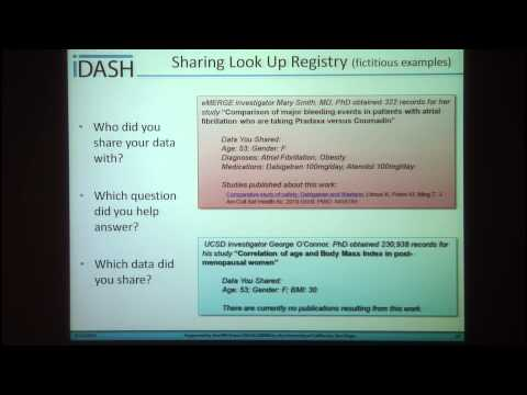 Lucila Ohno-Machado- informed CONsent for Clinical data Use for Research (iCONCUR)