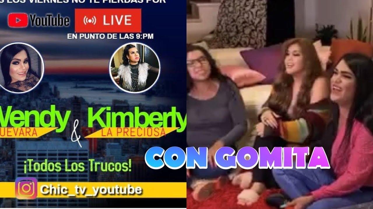 #lasperdidas  # Gomita. Detrás de cámaras de abentrevista de  gomita a Wendy y Kimberly