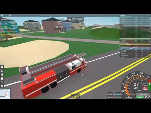 Roblox UD Westover Islands | Fire Patrol