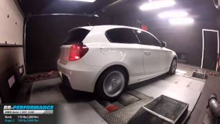 Reprogrammation Moteur BMW Serie 1 E87 116D 115hp @ 196hp (Stage 2) par BR-Performance