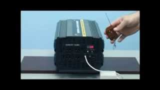 3000 Watt Power Inverter with 20 Amp Battery Charger 12 Volt DC to 110 Volt AC
