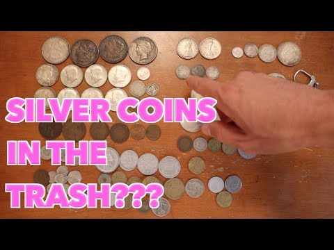 $300+ Silver Coins Saved from the Trash???