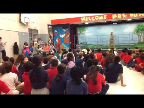 My fifth grade talent show at barbara bush elementary school