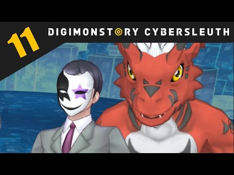Digimon Story: Cyber Sleuth PS4 / PS Vita Let's Play Walkthrough Part 11 - Mephisto And Growlmon