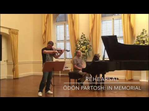 Amihai Grosz playing Ödön Partosh: Yizkor (In Memoriam) - excerpt