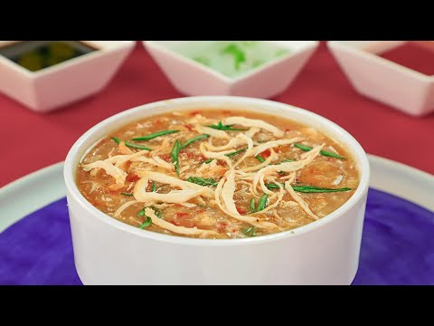 Easy Hot and Sour Soup Recipe | Homemade Hot and Sour Soup by SooperChef
