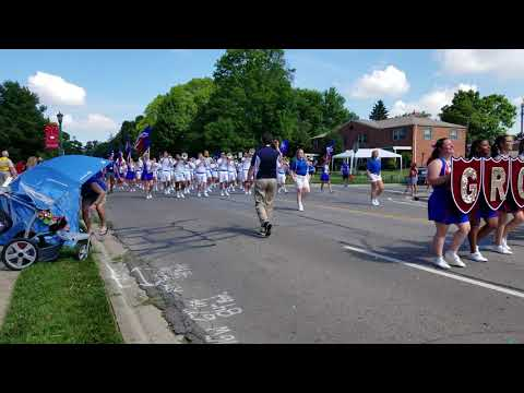 Grove City High School Marching Band - Upper Arlington 4th of July Parade
