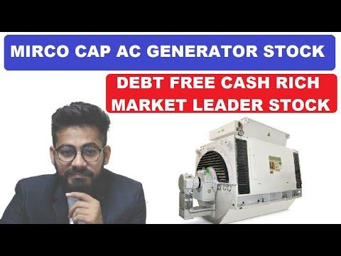 AC GENERATORS बनाने वाली बेहतरीन MICRO-CAP कंपनी || 160 CR CASH || 1111 CR ORDER BOOK