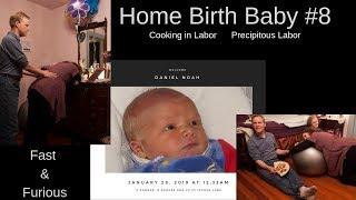 Precipitous Labor Home birth Baby #8 Surprise Gender Vlog