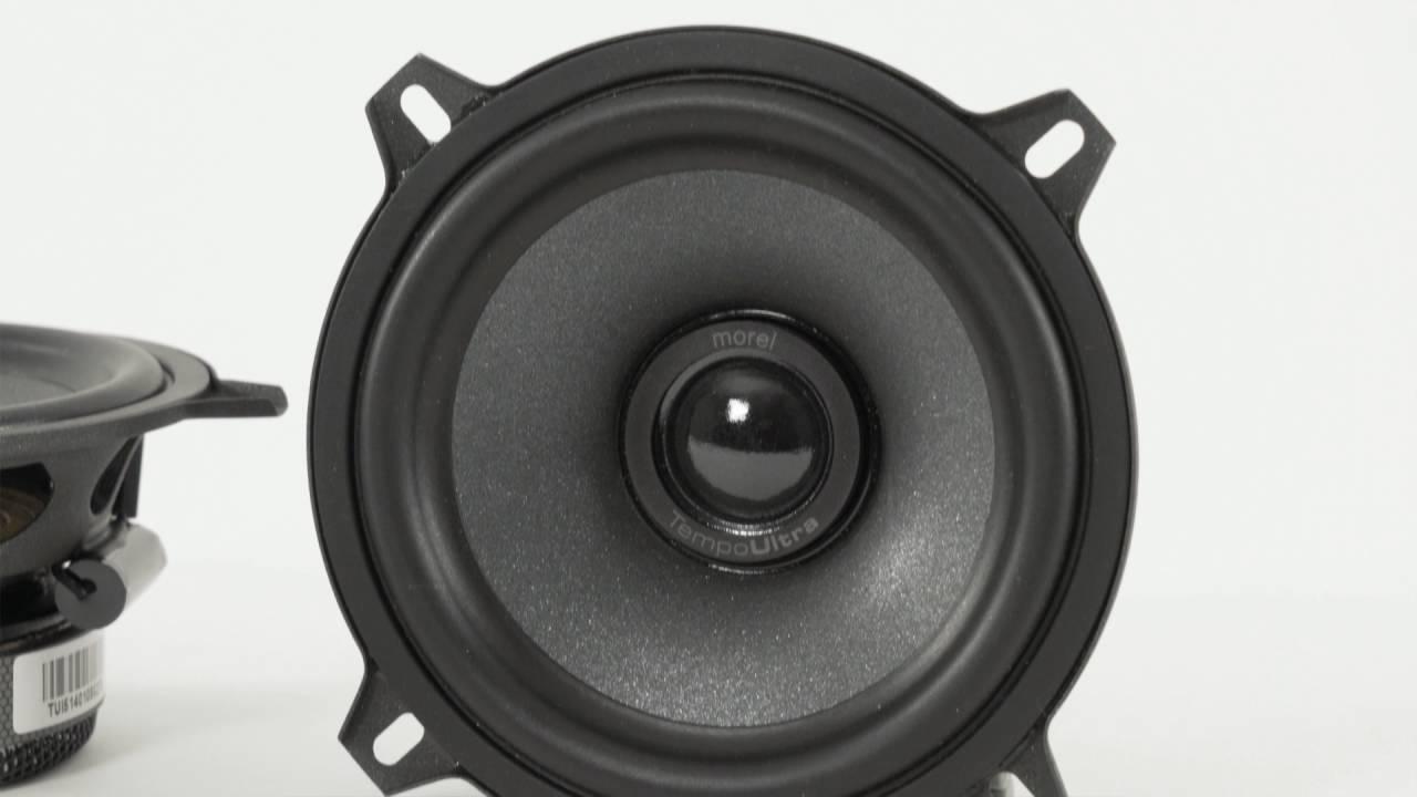 Morel Tempo Ultra component car speakers | Crutchfield video
