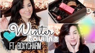 My Morning Winter Routine: Hygiene, Hair, Makeup etc.