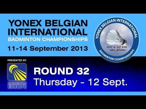 R32 - WS - Chi Ya Cheng vs Kristina Gavnholt - Yonex Belgian International 2013