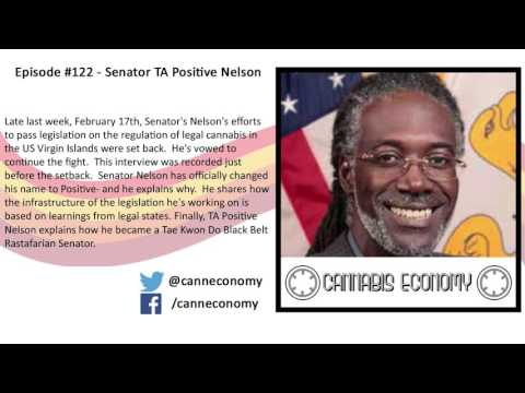 Legislator, VI: Ep. 122   Senator TA Positive Nelson, US Virgin Islands