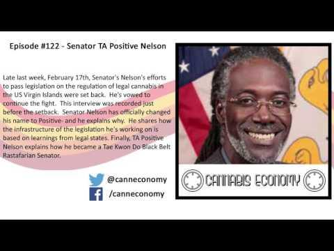 Legislator, VI: Ep. 122   Senator TA Positive Nelson, US Virgin Islands