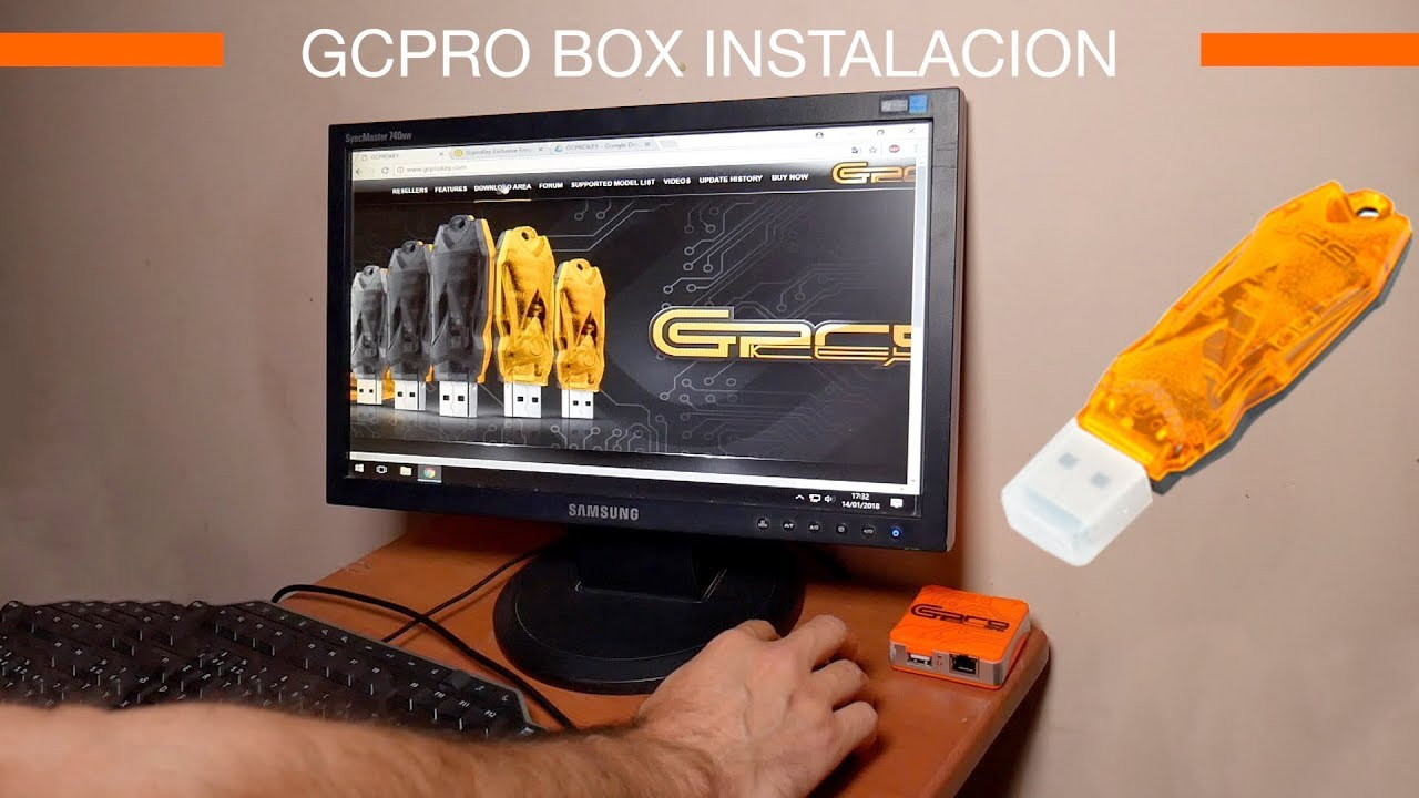 Como instalar caja de liberación nueva GCPRO box o GCPRO KEY 💻