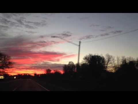 Iowa's sunset