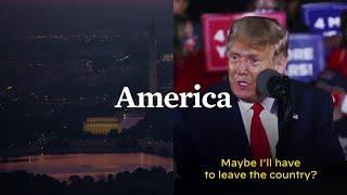 President Trump Says He'll Leave America if He Loses | Joe Biden For President 2020