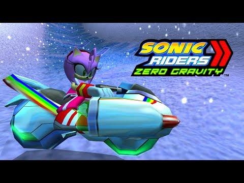 Sonic Riders Zero Gravity - Snowy Kingdom - Amy 4K 60 FPS