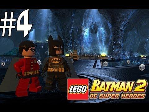 Lego Batman 2 - Walkthrough Part 4 Courtyard Clean Up