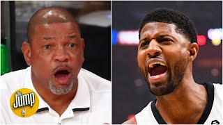 Doc Rivers has responded to Paul George's 'All the Smoke' comments | The Jump