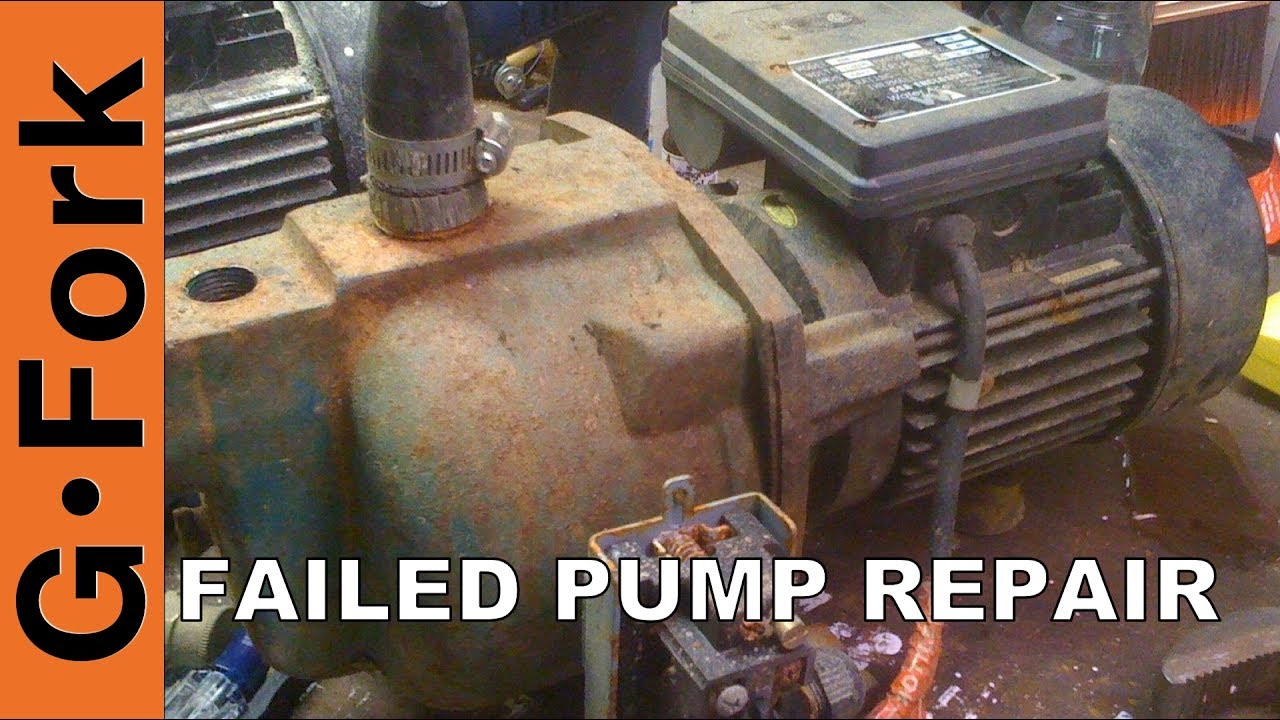 Failed Attempt At Fixing My Well Water Pump  GardenFork  YouTube