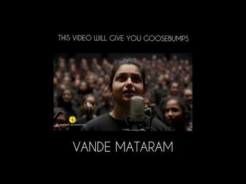 vande mataram I Group song I goosebumps