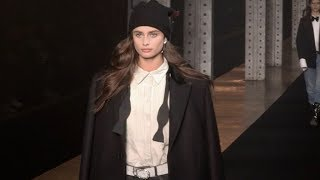 Grace Elizabeth, Taylor Hill and more on the runway for the Zadig & Voltaire Fashion Show in NYC