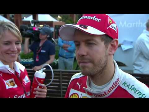 2016 Australia Post Race: Sebastian Vettel has 'mixed feelings' following Australian Grand