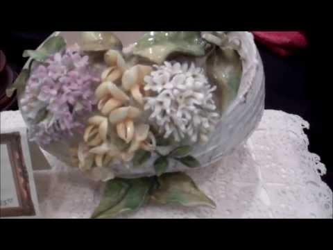Decorative Arts Egg with Lilacs