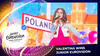 Valentina from France has won the Junior Eurovision Song Contest 2020!