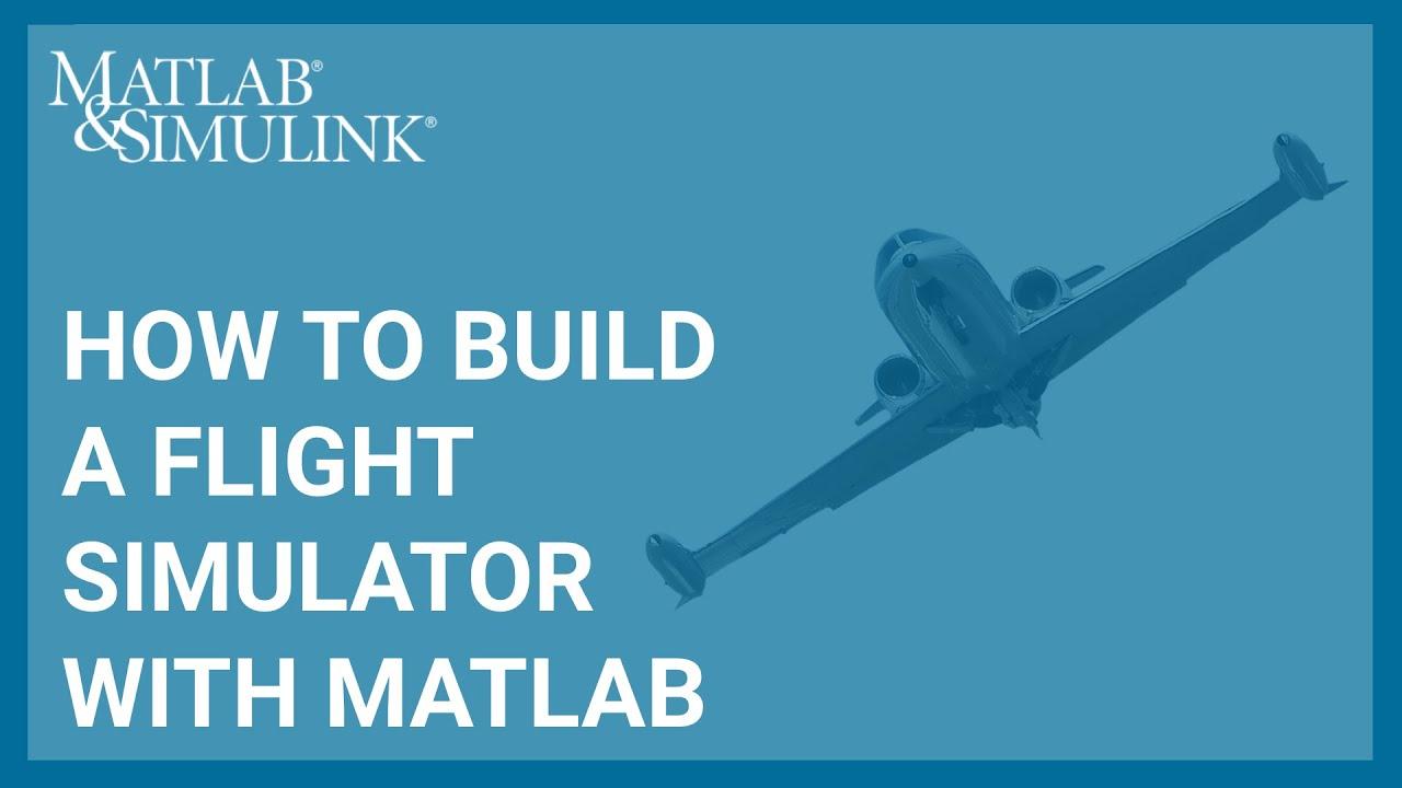 Flight Gear with MATLAB