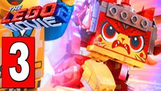 The LEGO MOVIE 2 Videogame Walkthrough Part 3 - TEMPLE OF SUNNY DIAS / DEFEAT GIANT ALIEN INVADER