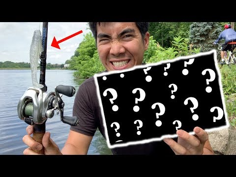 MYSTERIOUS Box of Lures Catches a TON of Fish!!! (EPIC FISHING CHALLENGE)