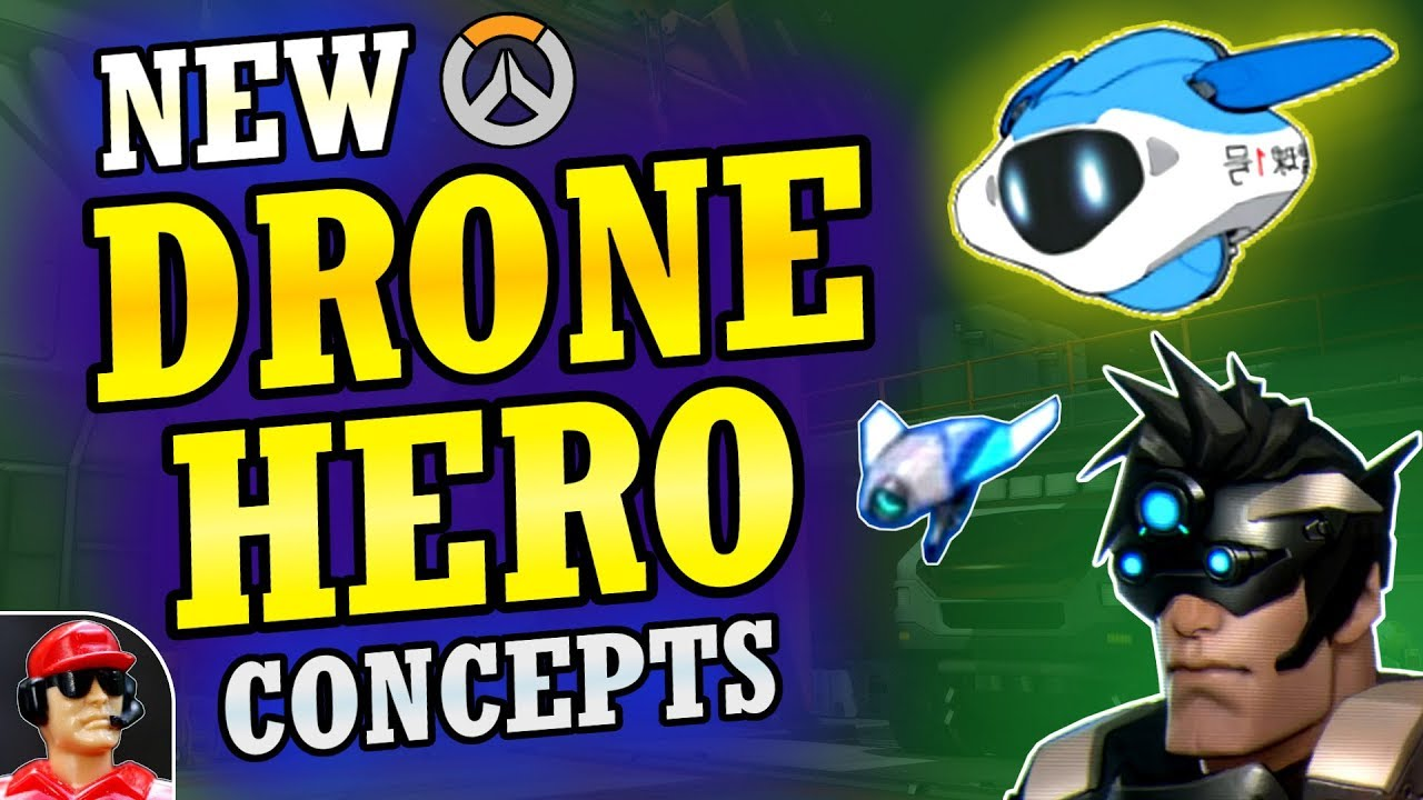 Download Drone Abilities in Overwatch & How They'd Work (Overwatch New Hero Concepts)