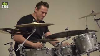 Thomas Lang drum solo - Remo Powerstroke 77 & Powerstroke 3 Black Dot