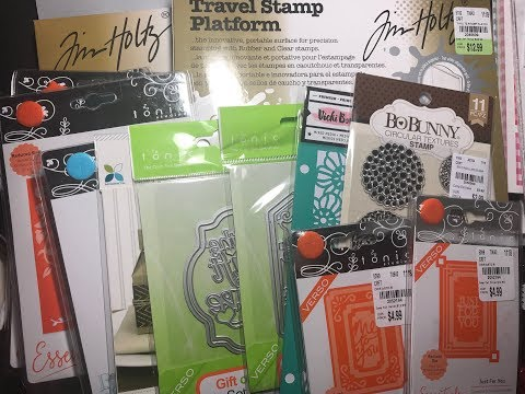 Tuesday Morning Haul: Tonic Studios Dies & Tim Holtz Stamp Platform