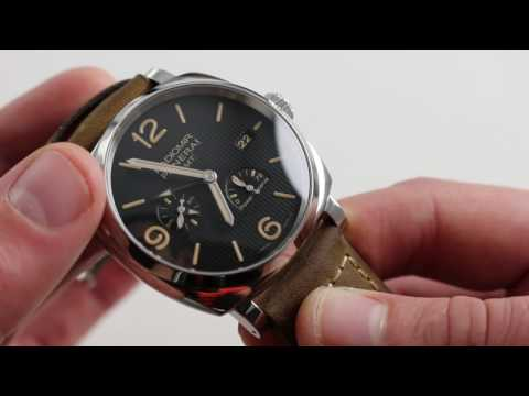 Panerai Radiomir 1940 3 Days GMT Power Reserve Auto PAM 658 S Watch Review