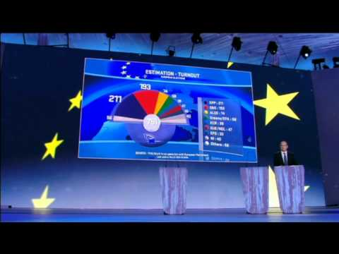 LIVE European Elections 2014 - First reactions by political groups leaders.