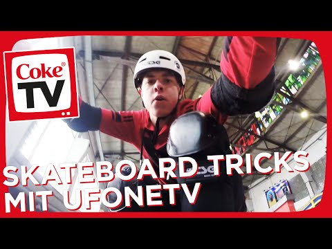 UFONETV und Marvin lernen Skateboard Tricks vom Profi | #CokeTVMoment