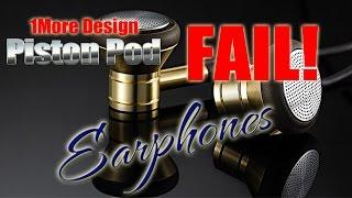 One More Design Piston Pod Earphones Review - 1More - Like Xiaomi Pistons ? ColonelZap