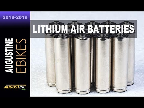 E-bike. Lithium Air Batteries 15 times the capacity of Lithi