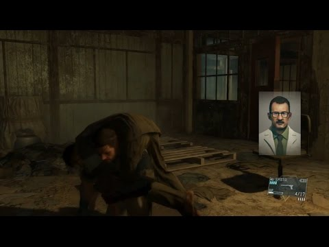 Metal Gear Solid 5 Blind Let's play - Episode 5: Over the Fence