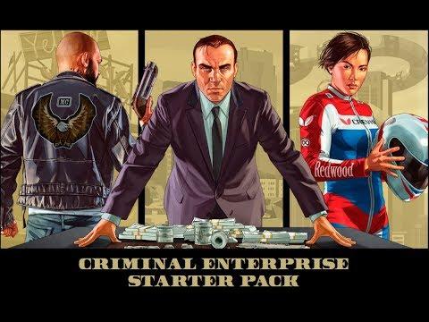 GTA 5 ONLINE - CRIMINAL ENTERPRISE STARTER PACK! (BIGGEST PACK) (PS4 PRO)