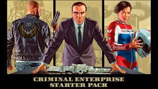 GTA 5 ONLINE - CRIMINAL ENTERPRISE STARTER PACK! (BIGGEST PACK) (PS4 PRO)