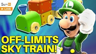 The OFF LIMITS Sky Train! - Super Mario Galaxy (Toy Time Galaxy)