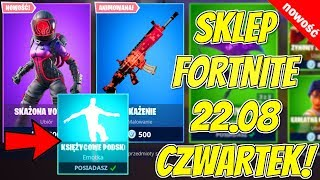 FORTNITE 22.08 STORE-NEW SKIN contaminated Voyager, painting contamination, lunar jumping emoticons