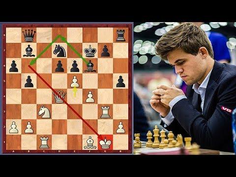 "Magnus Carlsen's ""Dirty"" Chess Trap vs Ding Liren"