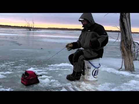 In-Depth Outdoors: On Ice #0009- Ice Fishing Perch In Webster, South Dakota With Cal Svihel