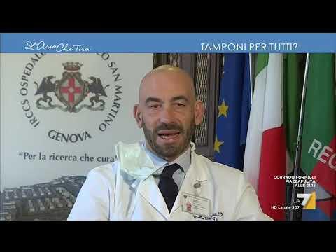 Coronavirus, l'infettivologo Matteo Bassetti: 'I numeri ufficiali dei contagiati fanno vedere ...