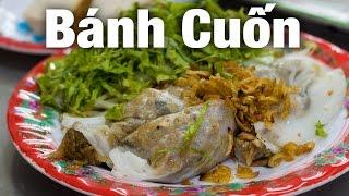 Vietnamese Banh Cuon In Saigon At Bánh Cuốn Hải Nam